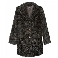AMBRE - Coat fully lined in faux fur with long sleeves.