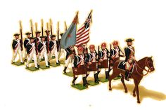 metal toy soldiers by the wonderful Wm Hocker