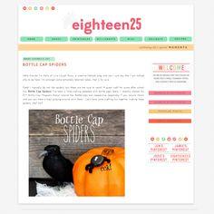 eighteen25 -design by smitten blog designs