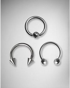 14 Gauge Septum Captive 3 Pack - Spencer's
