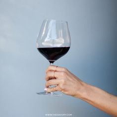 The Way You Hold Your Glass Shows Your Class | The Savory