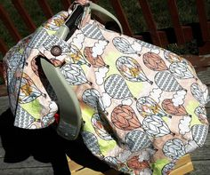 Hot air Balloon Car Seat Cover l Hot air Balloons l by OwlBehave Balloon Cars, Hot Air Balloon, Balloons, Baby Girl Items, Baby Car Seats, Trending Outfits, Children, Handmade Gifts, Cover