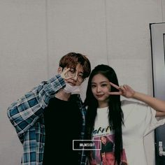 Jenbin ❤ Kpop Shop, Hidden Love, Kpop Couples, Blackpink And Bts, Kim Hanbin, Cute Posts, Kim Jennie, Kpop Aesthetic, Queen