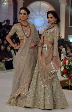 Beautiful #IndoPak Bridal #Couture w/ shimmer
