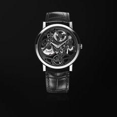 Uhr Ultraflach skelettiert Weißgold - Piaget Luxusuhr G0A40033