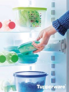 Using REAL Tupperware containers makes it easy to store produce, prepped meals, and leftovers in the refrigerator. Eco bottles are great for keeping water ready to go. Stay prepared with Tupperware!