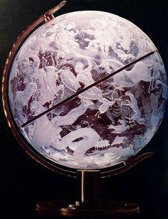Sky Globe by Edward Hald