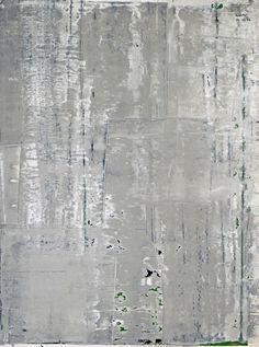 Gerhard Richter, Grau (Grey), 2006. Oil on paper. 120cm H x 90cm W. [898-17]