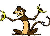 Animierte Tier Gifs: Affen - Gif-Paradies