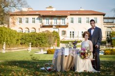 The gorgeous Cuneo grounds; phography by Ann and Cam