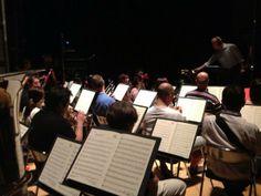 #ScalaTourJapan - 06/09/2013 - Tokyo NHK Hall - Rigoletto -  Rehearsals - The off stage Orchestra http://www.teatroallascala.org/en/season/tours/2012-2013/japan/rigoletto-giuseppeverdi-2013.html
