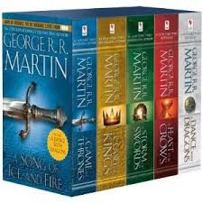 Game of Thrones Books. Gonna try and get through these before summers up too.