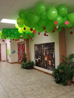 Foyer, Cow-a-bunga Farm theme BMBC Louisiana
