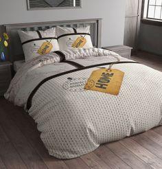 Set de pat GER Home Label Grey