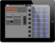 MATRIXSYNTH: Akai Miniak & Alesis Micron iPad Editor
