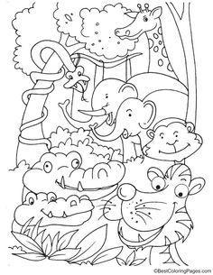 Kangaroo With Joey Coloring Page Coloring Pages Coloring Pages