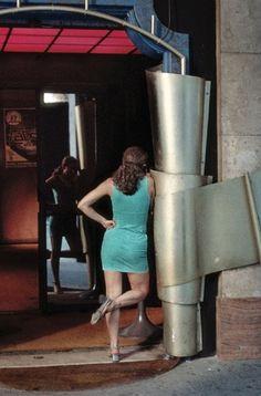 Hommage à Antonioni par le photographe belge Harry Gruyaert à la Galerie Cinéma