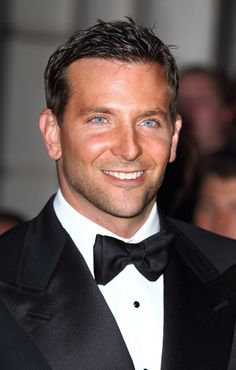 Bradley Cooper is dapper in a tuxedo and bow tie Bradley Cooper, Beautiful Eyes, Gorgeous Men, Beautiful People, Gq Men, A Star Is Born, Raining Men, Portraits, Man Alive