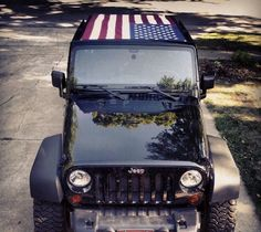 This my jeep last year on the 4th of July.