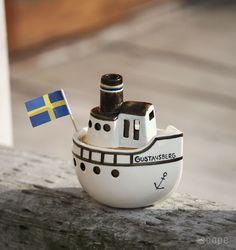 Lisa Larson (リサ・ラーソン) / Gustavsberg Boat