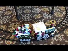 Avon Christmas Disney Train & Music Box