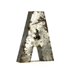 Metal Letter A Small, $99, now featured on Fab.