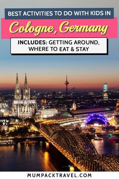 Discover the top 10 things to do in Cologne Germany with kids. In this guide, we show you exactly where to stay, kid-friendly eats, and the best things to do in Cologne. Europe On A Budget, Europe Travel Tips, European Travel, Travel Guide, Cities In Germany, Visit Germany, Germany Travel, Places In Europe, Places To Travel