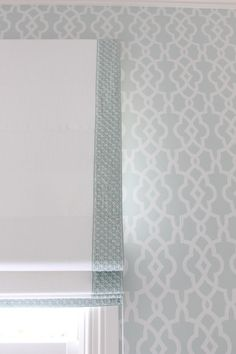 Schumacher wallpaper and trim - Melinda Hartwright Interiors
