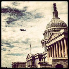 Apr. 17th, 2012: Discovery piggybacks aboard Boeing 747 to Washington DC