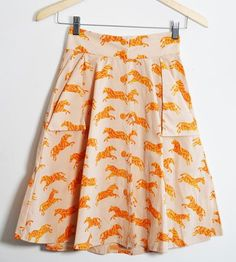 Roxanne Zebra Skirt by Family Affairs on Scoutmob Shoppe