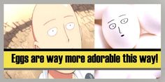 The mere thought of Saitama's distinct egg-shaped face becomes instant entertainment to all.  #onepunchman