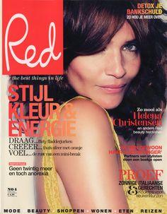 Helena Christensen | For Red Magazine Netherlands | April 2011 #helenachristensen #red #2011
