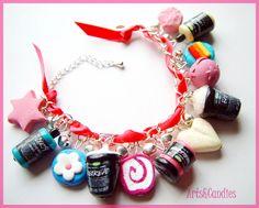 Lush cosmetics themed Charm Bracelet WANT teehee