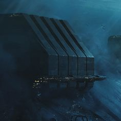 Ballast powered descent vehicles , Patrik Rosander on ArtStation at… Futuristic City, Futuristic Architecture, Environment Concept Art, Environment Design, Sf Wallpaper, Arte Sci Fi, Sci Fi City, Underwater City, Ios App