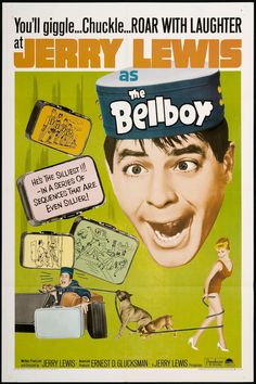 The Bellboy (1960) starring Jerry Lewis  /////////////// K
