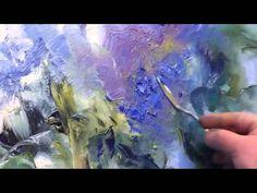 Artista Igor Sakharov. Imparare a disegnare Lilacs - YouTube
