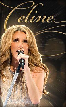 Celine Dion at The Colosseum Caesars Palace Las Vegas http://thecolosseum.com/