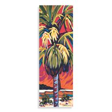 Palm Panel Red Wall Art - Bed Bath & Beyond