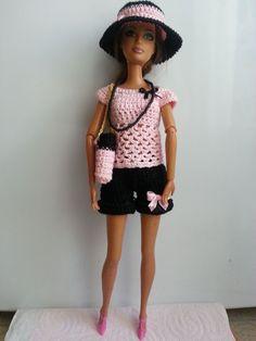vêtement poupée mannequin Barbie (283)