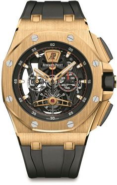 Audemars Piguet Royal Oak Offshore Tourbillon Chronograph #ad #commissionlink