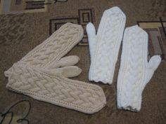 Варежки. Вязание варежек спицами от кончиков пальцев- МК.. Обсуждение на…
