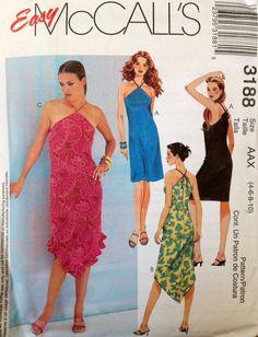 Easy McCall's 3188 UNCUT Misses/Miss Petite Dresses by Lonestarblondie on Etsy