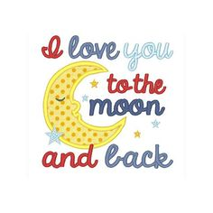All Designs :: Baby :: I love you to the moon and back