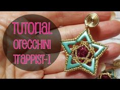 ENG SUBS - DIY TUTORIAL ORECCHINI TRAPPIST-1 CON AVA BEADS - YouTube