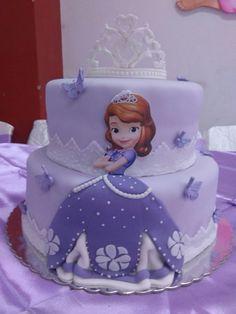 Torta Princesa Sophia