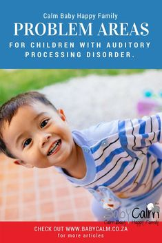An Auditory Processing Disorder can result in 5 main problem areas for children. These include: Auditory Figure-Ground Problems Auditory Memory Problems Auditory Discrimination Problems Auditory Attention Problems Auditory Cohesion Problems New Parent Advice, Parent Resources, Gentle Parenting, Parenting Advice, Auditory Processing Disorder, Sensory Processing, Baby Calm, Baby Sensory Play