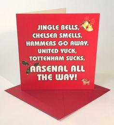 Arsenal all the way this Christmas