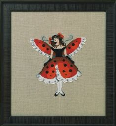 NORA CORBETT for Wichelt Imports Counted Cross Stitch Chart MOTH MISS MOSS