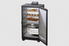 """Masterbuilt 30-Inch Black Electric Digital Smoker - """"Some people think you can't cook everything on a smoker, but they're wrong."""""""