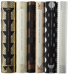 F. Scott Fitzgerald set of books designed by Coralie Bickford-Smith
